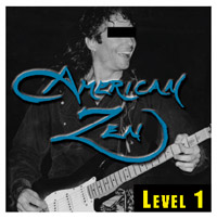 CD album cover LEVEL 1 by American Zen