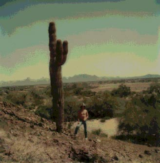 Don DelaVega in Yuma Desert