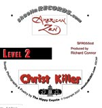 CD imprint label of Christ Killer