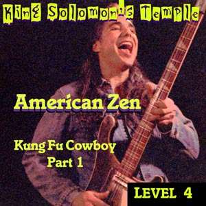 Kung Fu Cowboy cd by American Zen