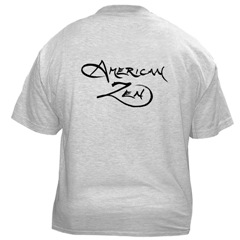 American Zen Short-Sleeved T-shirt BACK