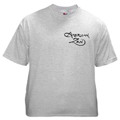 American Zen Short-Sleeved T-shirt FRONT