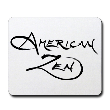 MOUSEPAD with American Zen logo