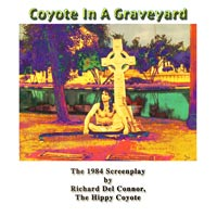 COYOTE IN A GRAVEYARD