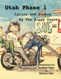 Poetry Book UTAH PHASE 1 by The Hippy Coyote